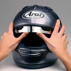 sunax f r arai helme sonnenblende internes visier 100 uv schutz dunkel. Black Bedroom Furniture Sets. Home Design Ideas